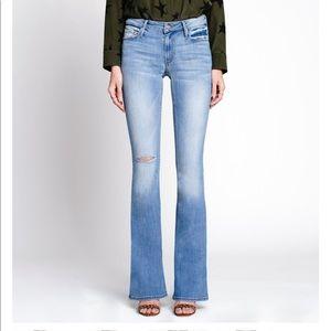 Black Orchid NWT Mia Mid Rise Skinny Flare Jean